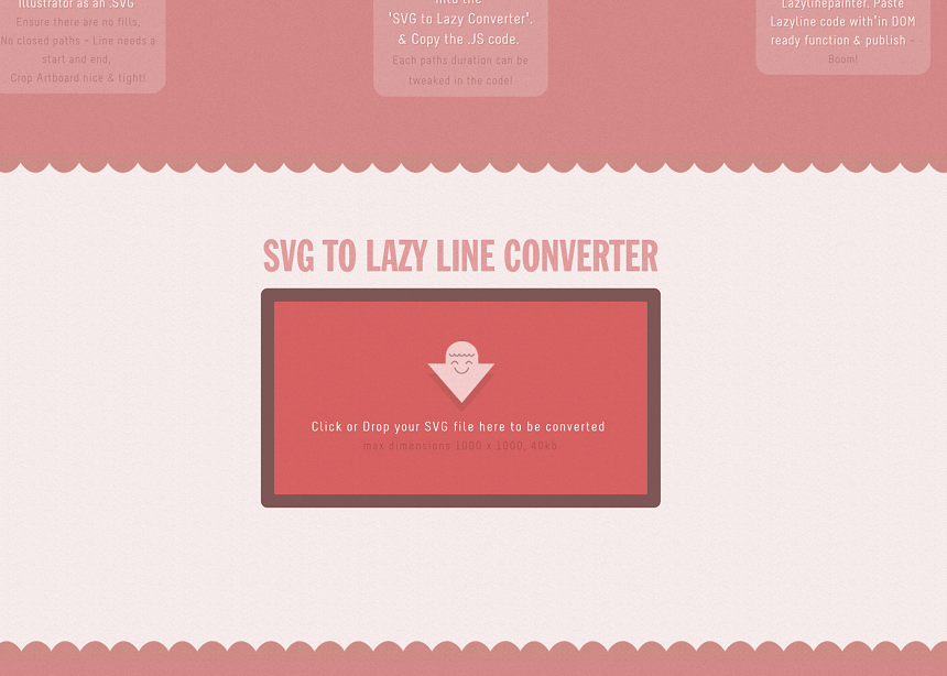 Lazy Line Painter site image